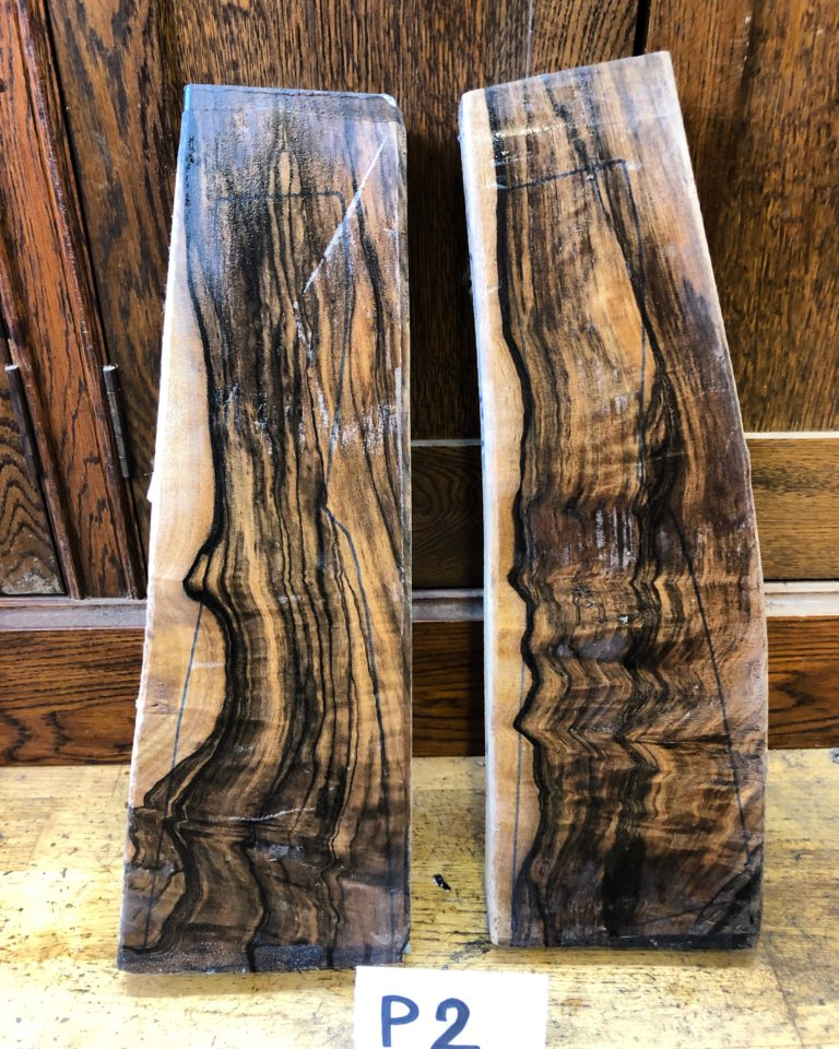 A matching pair of walnut gunstock available from us