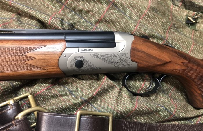 Shown here the new 20 bore Fabarm Elos B2 Field.