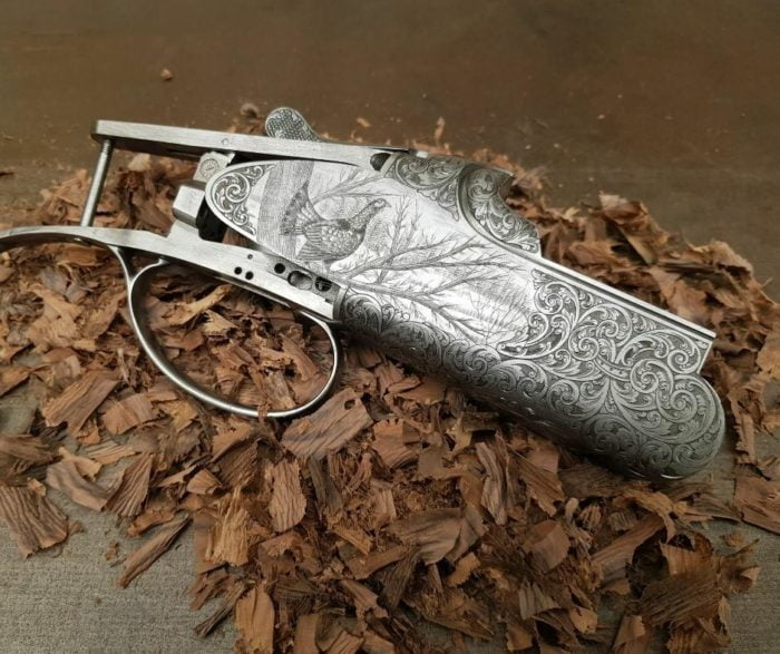 We can have a Chapuis Armes shotgun or rifle made to your specification. You will choose your wood, the stock will be made to measurements. You will choose your engraving. A fully bespoke gun at an affordable price.