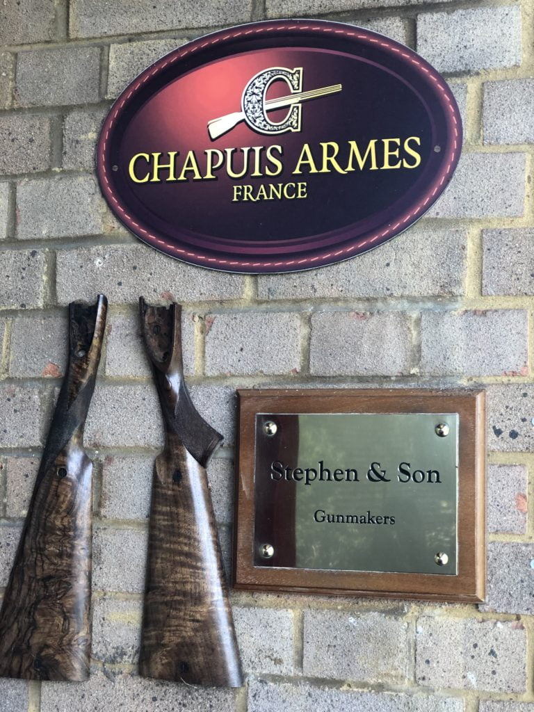 We are an official dealer and repair centre for Chapuis Armes in UK