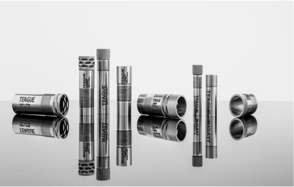A selection of different Teague Chokes