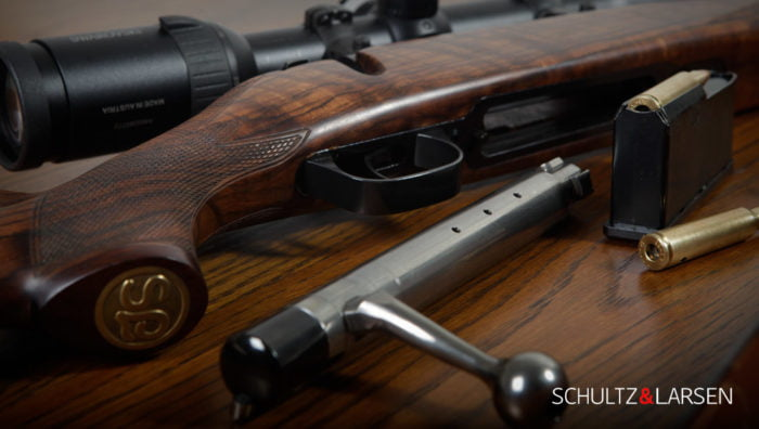 S&L perfectly engineered and a great quality rifle made in Denmark