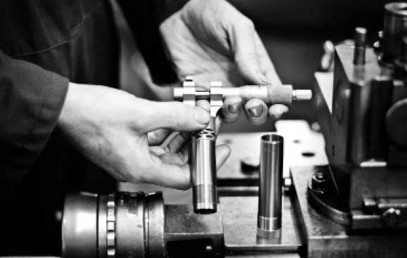 The manufacturing process of the Teague Chokes